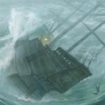 The Boy Who Fell Off The Mayflower illustration by PJ Lynch