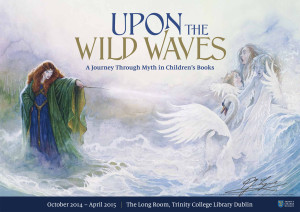 Upon the Wild Waves.... poster  with signature