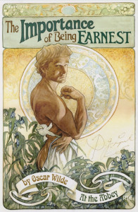 the importance of being Earnest poster post