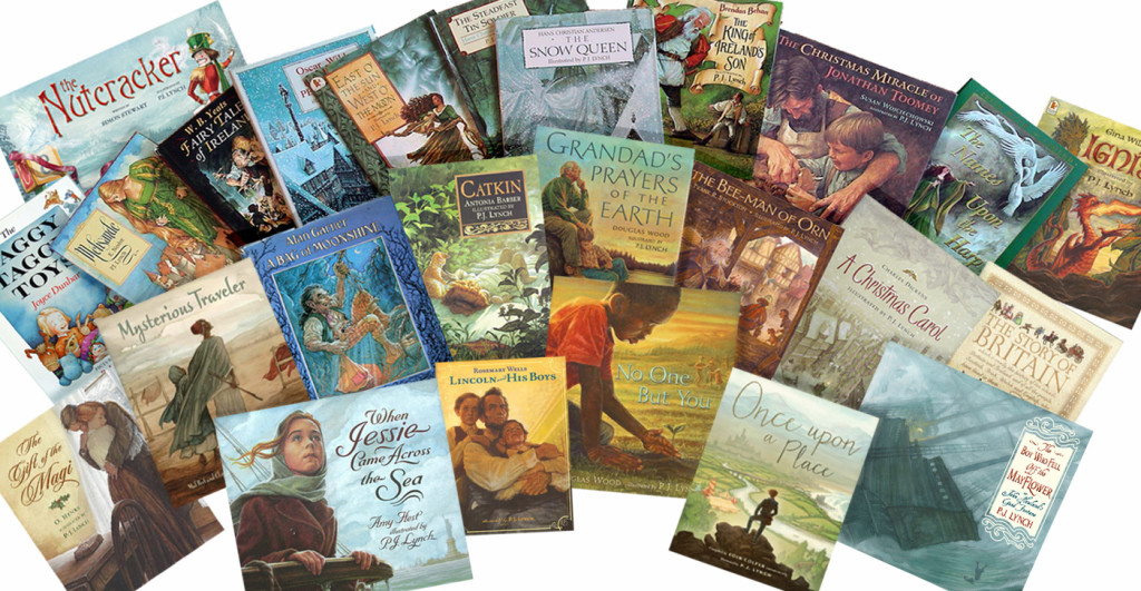 All my book covers_ three rows  cropped
